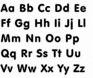 printable alphabet cut outs letters of the alphabet to With photos of letters ofthe alphabet