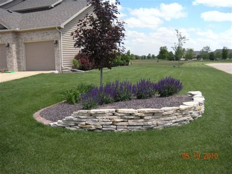 idea for berm in front yard