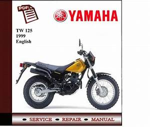 Yamaha Tw 125 1999 - 2004 Workshop Service Manual