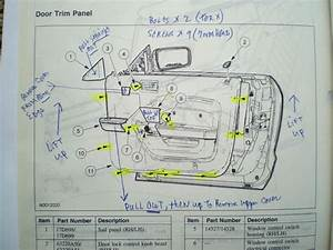 Passenger Side Door Schematic