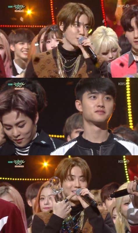 exo tempo win naver exo tempo first win netizen nation onehallyu