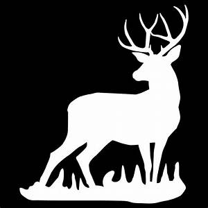 Mule Deer Buck Wall Decal