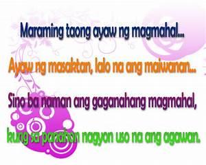 Tagalog Love Quotes and Saying - Love Hurts