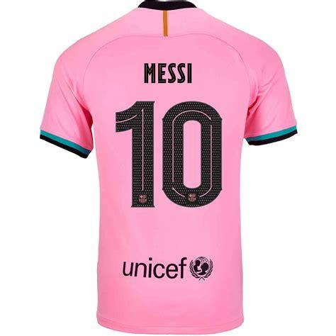 202021 Kids Nike Lionel Messi Barcelona 3rd Jersey