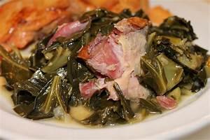 recipe for collard greens with ham hocks