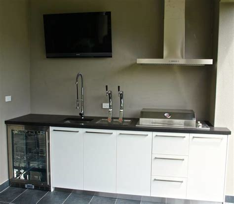 kitchen cabinets contractors outdoor kitchen and bar polished concrete benchtop 2941