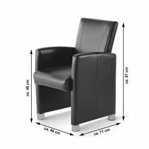 Esszimmerstuhl Grau Leder : esszimmerstuhl sessel grau recyceltes leder marlon ~ Watch28wear.com Haus und Dekorationen