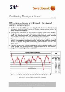 Purchasing Managers' Index April 2012