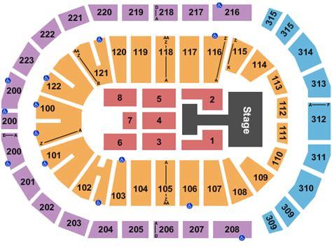 Infinite Energy Arena Seating Chart & Maps - Atlanta