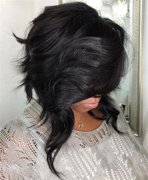Sew In Layered Bob Hairstyles by 25 Best Ideas About Layered Weave On