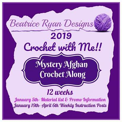 Crochet Afghan Mystery Week Cal Along