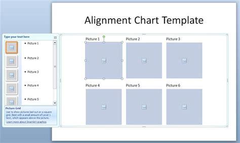 Alignment Chart Template Alignment Chart Template In Powerpoint Powerpoint
