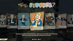 Fallout 76 Guide To Leveling  Special And Perk Cards