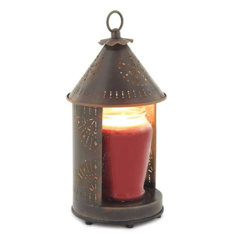 candle warmers etc tin punched candle warmer lantern