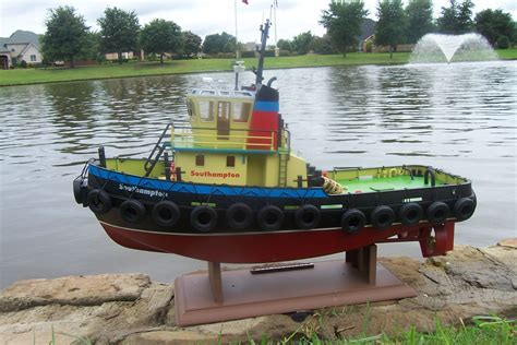 Rc Tug Boat by The Scale Modeler Trains Boats Ships Sailplanes