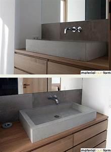 Bad Mit Holz : die besten 25 beton badezimmer ideen auf pinterest beton dusche badezimmerwaschtische und ~ Orissabook.com Haus und Dekorationen