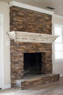 Brick Wall Fireplace Mantels