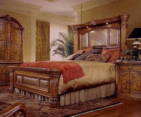 ideas  king size bed  small room