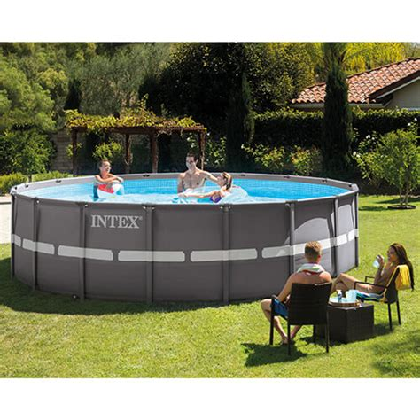 intex ultra frame pools above ground swimming pools in the swim