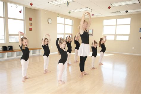 Little Girl Ballet Dance Class