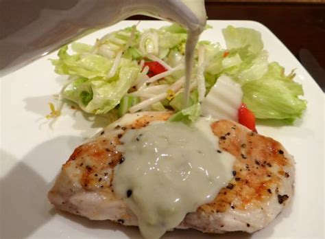 blue cheese sauce blue cheese sauce for steaks burgers and chicken recipe food com
