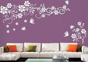 Modern ideas for interior decorating with stencils stencil for Interior wall painting ideas stenciling
