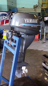 Used 2000 Yamaha F15mlhy 15hp 4