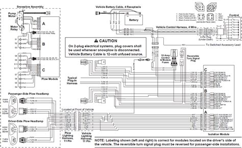 Minute Mount 1 Headlight Wiring Diagram by Fisher Minute Mount Wiring Harness Wiring Diagram