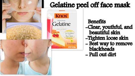 natural diy peel  face mask  oily skin