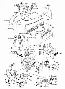 Craftsman Model 298585190 Boat Motor Gas Genuine Parts