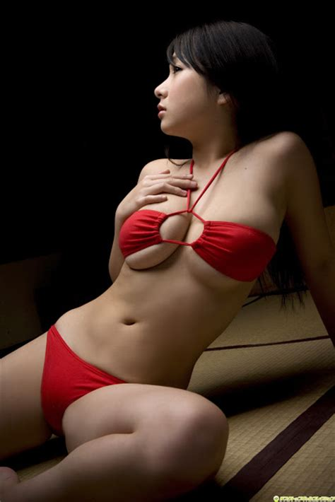 rui kiriyama  red hot cute asian girl photocute japan