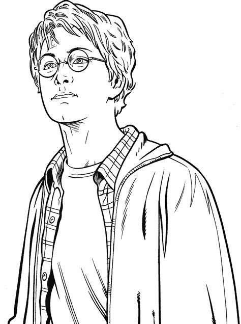 dessin de harry potter