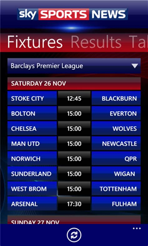 Sky Sports News .xap Windows Phone Free App Download | Feirox