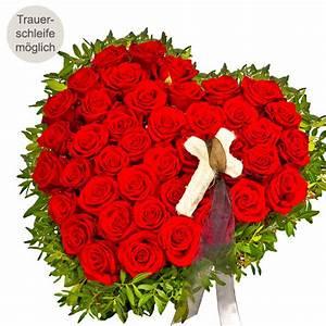 Trauer Blumen Bilder : rosenherz anteilnahme online blumen zur trauerfeier blumen online bestellen bundesweit ~ Frokenaadalensverden.com Haus und Dekorationen