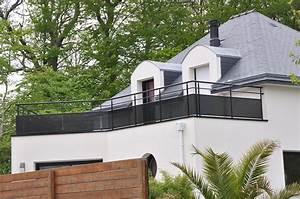 Garde Corps Terrasse Aluminium : garde corps terrasse ext rieure g2h29 ~ Melissatoandfro.com Idées de Décoration