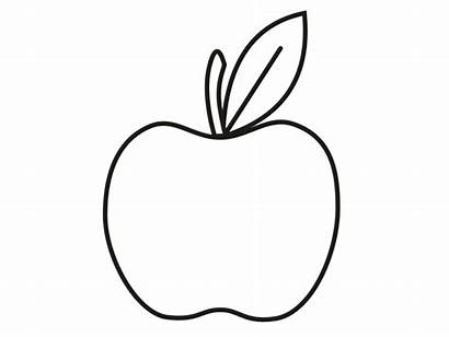 Coloring Pages Apple Clipartmag Vegetable
