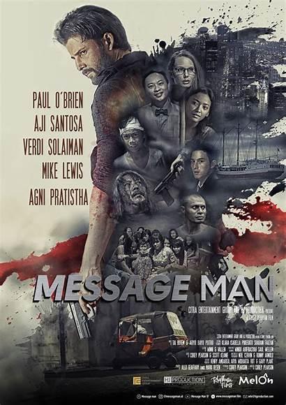Message Film Movie Poster Brutal Berdarah Darah