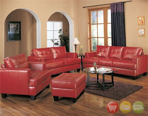 red sofa living room decor decorating ideas living room red leather sofa memsaheb net