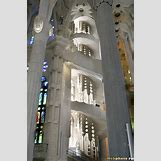 Gaudi Sagrada Familia Ceiling | 450 x 680 jpeg 150kB