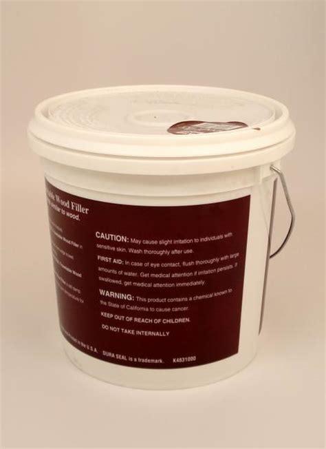 Dura Seal White Oak Trowelable Wood Filler Gallon