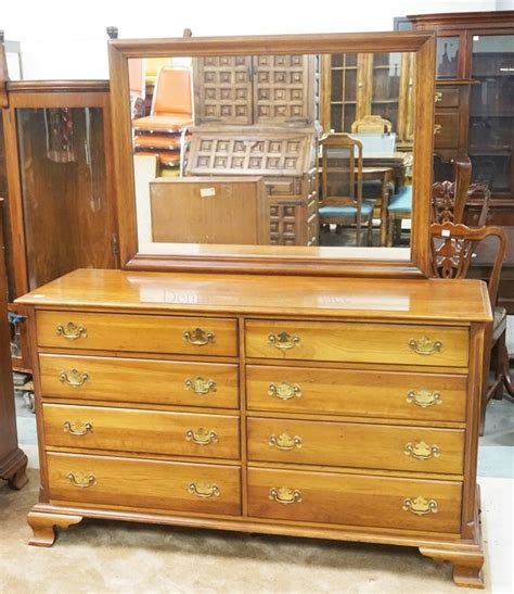 6 Inch Wide Drawers by Cherry Low Chest Of Drawers With Mirror 60 Inches Wide 67