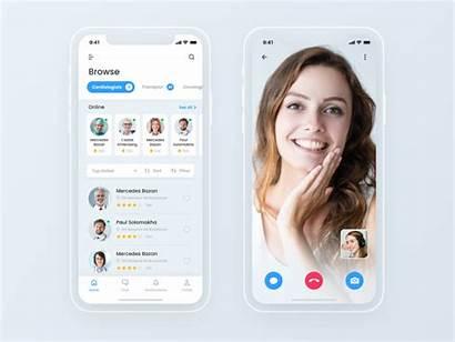 Telemedicine App Dribbble