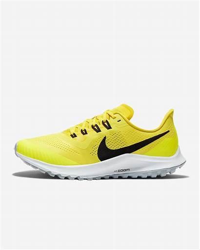 Nike Pegasus Trail Air Running Jaune Womens