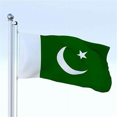 Flag Pakistan Animated Army 3docean Drawing