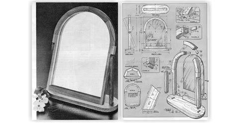 vanity mirror plans woodarchivist
