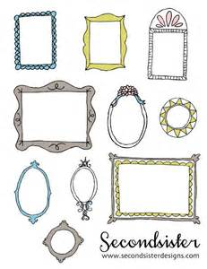 these are the cutes freebie photo frames i 39 ve found secondsister suaviloquy free