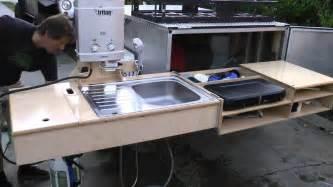 cer trailer kitchen ideas cargo trailer cer kitchen images