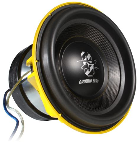 ground zero lautsprecher ground zero gzpw 15spl subwoofer carhifi b 252 nde