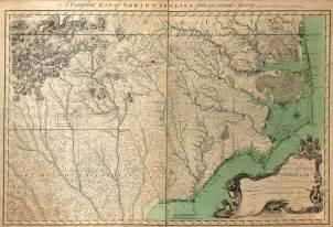 North Carolina Colony Map
