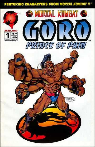 Mortal Kombat Goro Prince Of Pain Volume Comic Vine